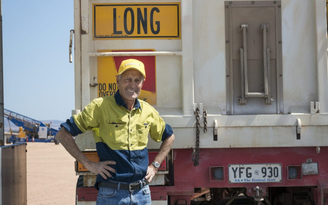 T-Ports receives first load of grain into Lucky Bay bunker site